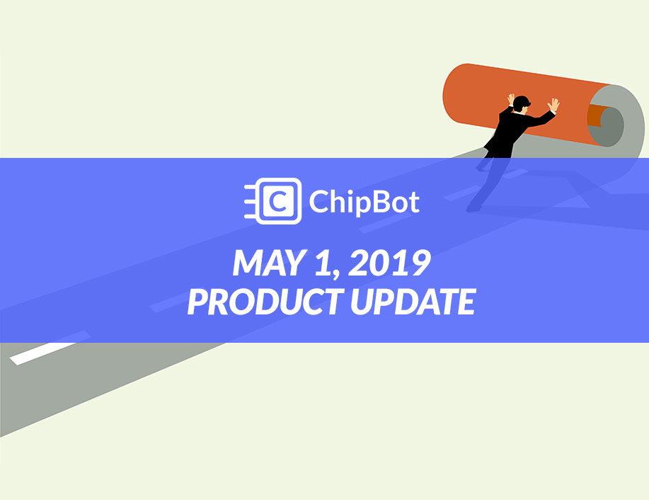 May 2019 Product Update