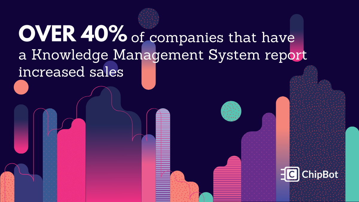47% of Companies That Have a Knowledge Management System Report Increased Sales