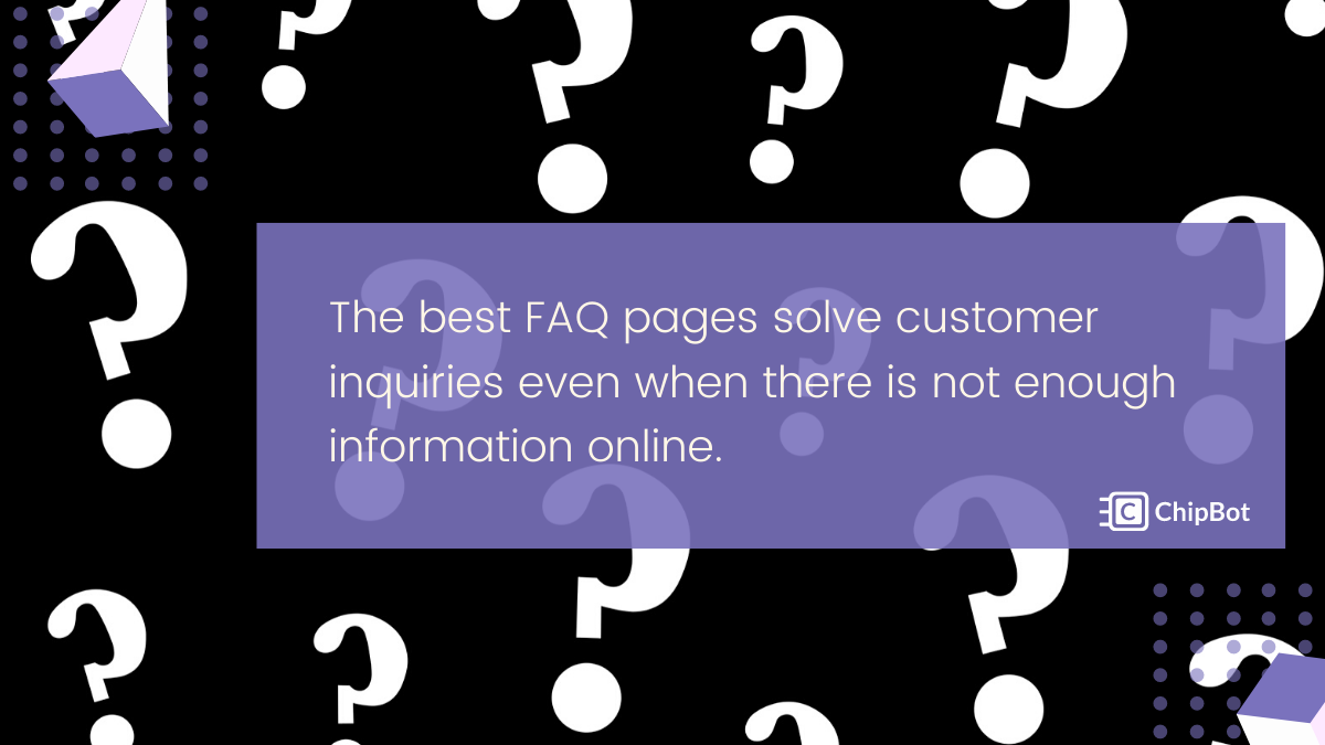 7 Examples for Why You Need the Best FAQ Page